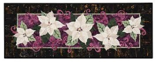 Poinsettias Table Runner